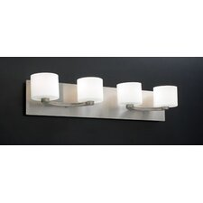 <strong>PLC Lighting</strong> De Lion 4 Light Vanity Light
