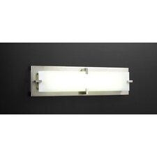 <strong>PLC Lighting</strong> Polaris/T5 2 Light Vanity Light