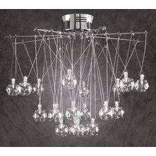 <strong>PLC Lighting</strong> Galaxia 20 Light Pendant