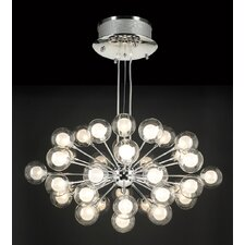 <strong>PLC Lighting</strong> Coupe 37 Light Pendant