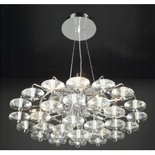 <strong>PLC Lighting</strong> Diamente 12 Light Pendant