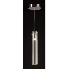 <strong>PLC Lighting</strong> Segretto 1 Light Mini Pendant