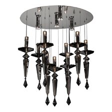 <strong>PLC Lighting</strong> Amore 13 Light Crystal Chandelier