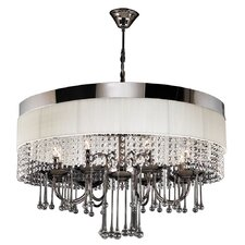 Elisa 8 Light Crystal Chandelier