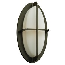 <strong>PLC Lighting</strong> Aqua 1 Light Outdoor Wall Sconce