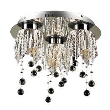 Mirabelle 3 Light Flush Mount