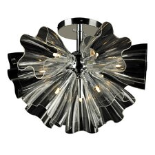 Orbitier 9 Light Flush Mount