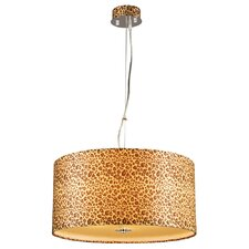 <strong>PLC Lighting</strong> Leopard 5 Light Pendant