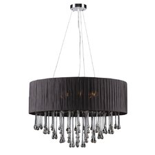 <strong>PLC Lighting</strong> Rain 6 Light Chandelier