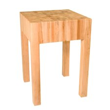 Fourche Creek Endgrain Prep Table with Butcher Block Top