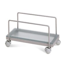 Zen-t CPU Cart in Satinated Aluminium
