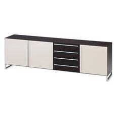 Life-3C Glass Door Sideboard