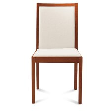 Cafe-i Dining Chair with Upholstered Back and Seat