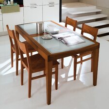 Flory 5 Piece Dining Set