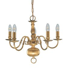 Flemish 5 Light Chandelier