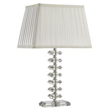 Olivia Table Lamp in Chrome