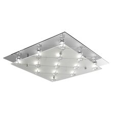Flash 13 Light Flush Mount in Clear