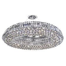 Kylie 10 Light Semi Flush Mount in Chrome