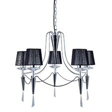 Duchess 5 Light Crystal Chandelier