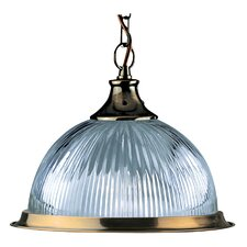 American Diner 1 Light Bowl Pendant