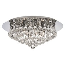 Hanna 6 Light Semi Flush Mount