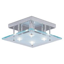 Dallas Small 4 Light Semi Flush Mount