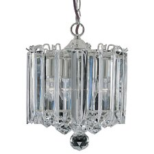 Sigma 3 Light Crystal Chandelier