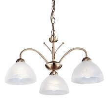 Milanese 3 Light Chandelier