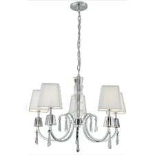 Portico 5 Light Crystal Chandelier