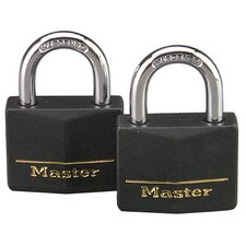 Weatherproof Padlock (Set of 2)