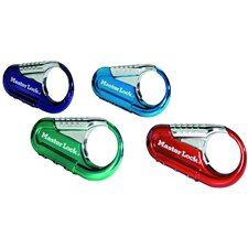 Assorted Colors Backpack Lock