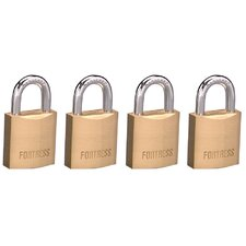 Solid Brass Padlock (Set of 4)