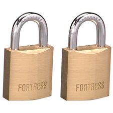 Solid Brass Padlock (Set of 2)