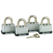 No. 22 Warded Laminated Padlocks (Set of 4)