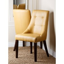 Stanley Leather Dining Chair (Set of 2)