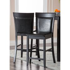 <strong>Abbyson Living</strong> Odessa Bar Stool with Cushion (Set of 2)
