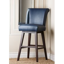 "Kendle 30"" Bar Stool with Cushion"