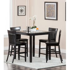 Odessa 5 Piece Counter Height Dining Set