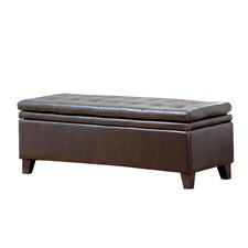 Easton Double Cushion Storage Ottoman