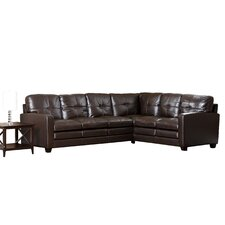 <strong>Abbyson Living</strong> Sienna Premium Top Grain Leather Sectional Sofa