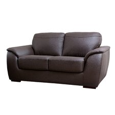 Ashton Leather Loveseat