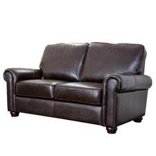 <strong>Abbyson Living</strong> Bliss Italian Leather Loveseat
