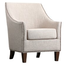 Jennifer Fabric Nailhead Trim Armchair