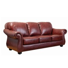 Harbor Premium Semi-Aniline Leather Sofa