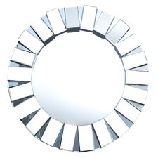 <strong>Abbyson Living</strong> Pacific Round Wall Mirror