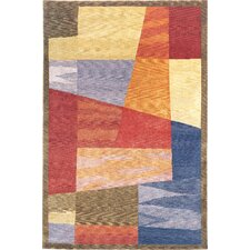Oceans of Time Himalayan Sheep Multi Indoor/Outdoor Rug