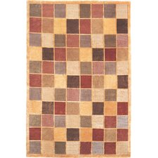 Oceans of Time Himalayan Sheep Checkered Rug