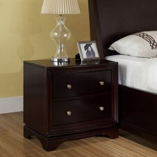 Lancaster 2 Drawer Nightstand