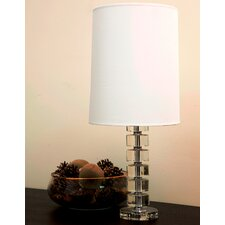 """Evora 24.75"""" H Table Lamp with Drum Shade"""