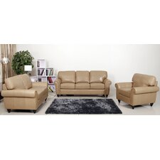Parks Premium Sofa, Loveseat and Arm Chair Set